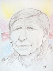 Grandfather White Bear6-90